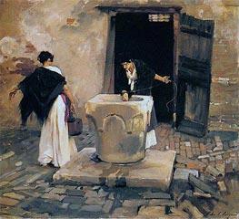 Venetian Water Carriers | Sargent | Gemälde Reproduktion
