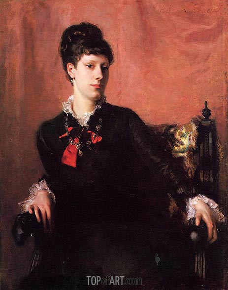 Frances Sherborne Ridley Watts, 1877 | Sargent| Painting Reproduction