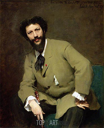 Carolus-Duran, 1879 | Sargent | Painting Reproduction