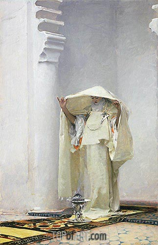 Fumee d'Ambre Gris (Smoke of Ambergris), 1880 | Sargent | Painting Reproduction