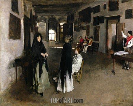Sargent | A Venetian Interior, c.1880/82