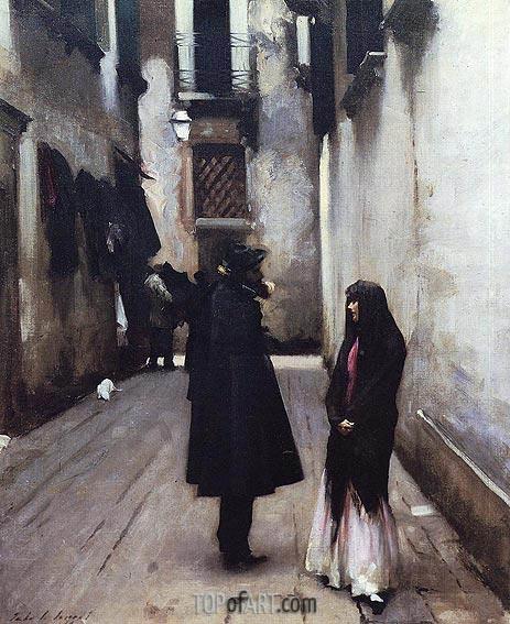 Sargent | Venetian Street, c.1880/82