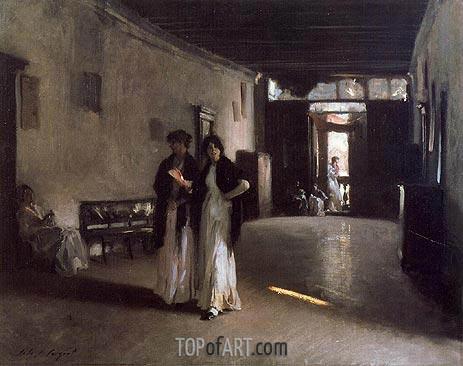Sargent | Venetian Interior, c.1880/82