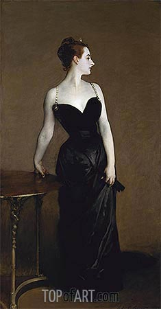 Madame X (Madame Pierre Gautreau), 1884 | Sargent| Painting Reproduction