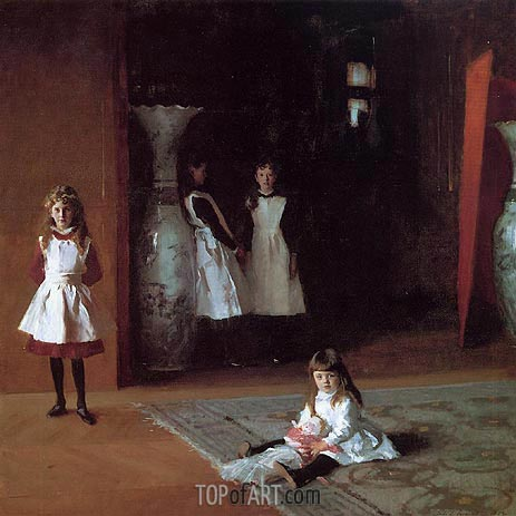 The Daughters of Edward Darley Boit, 1882 | Sargent | Painting Reproduction