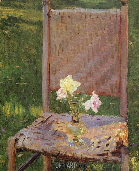 The Old Chair, c.1886 | Sargent | Painting Reproduction