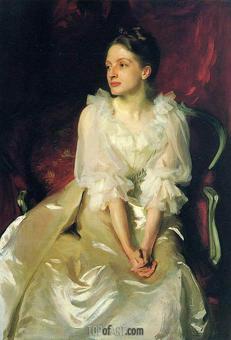 Miss Helen Duinham, 1892 | Sargent | Painting Reproduction