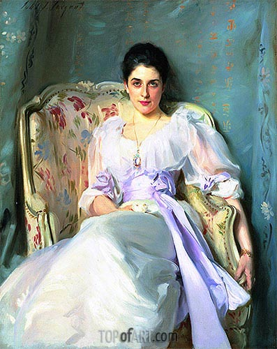 Lady Agnew of Lochnaw, c.1892/93 | Sargent| Painting Reproduction