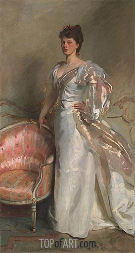 Mrs. George Swinton, 1897 | Sargent | Painting Reproduction