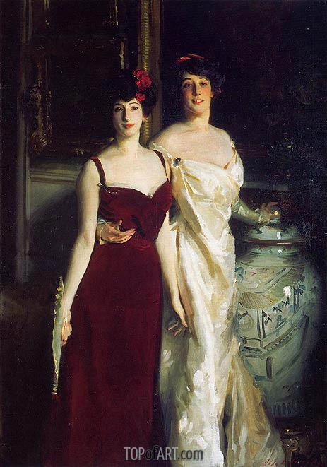 Sargent | Ena and Betty, Daughters of Asher and Wertheimer, 1901