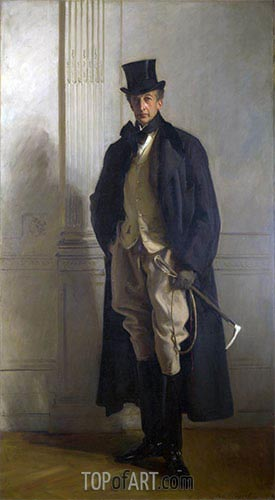 Lord Ribblesdale, 1902 | Sargent | Painting Reproduction