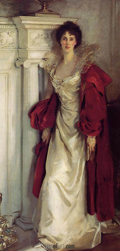 Winifred, Duchess of Portland, 1902 | Sargent | Gemälde Reproduktion