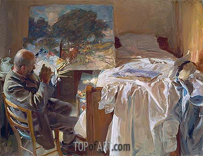An Artist in his Studio, 1904 | Sargent| Painting Reproduction