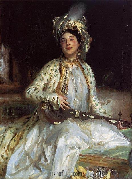 Sargent | Almina, Daughter of Asher Wertheimer, 1908