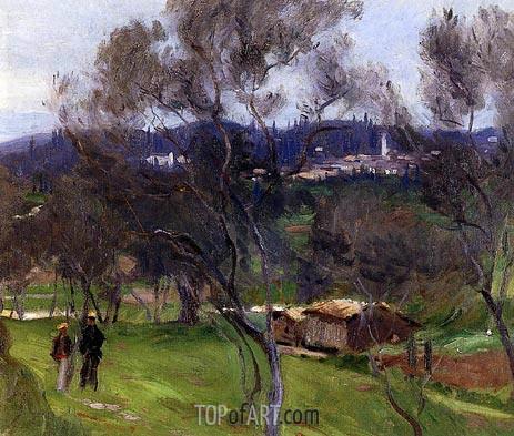 Sargent | Olive Trees, Corfu, 1909