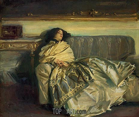 Nonchaloir (Repose), 1911 | Sargent | Painting Reproduction
