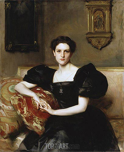 Elizabeth Winthrop Chanler (Mrs John Jay Chapman), 1893 | Sargent | Painting Reproduction