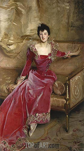 Sargent | Mrs. Hugh Hammersley, 1892