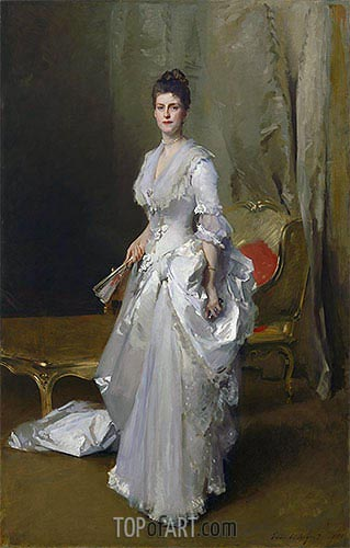 Mrs. Henry White, 1883 | Sargent | Painting Reproduction