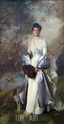 Portrait of Pauline Astor, c.1898 | Sargent | Painting Reproduction