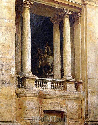 Sargent | A Window in the Vatican, 1906