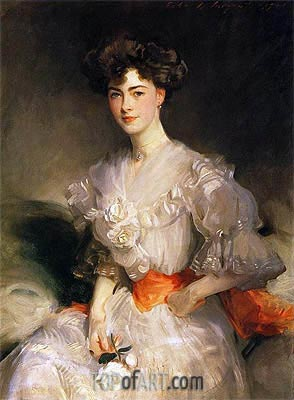 Maud Glen Coats, Duchess of Wellington, 1906 | Sargent | Painting Reproduction