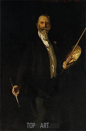 Portrait of William Merritt Chase, 1902 | Sargent | Painting Reproduction