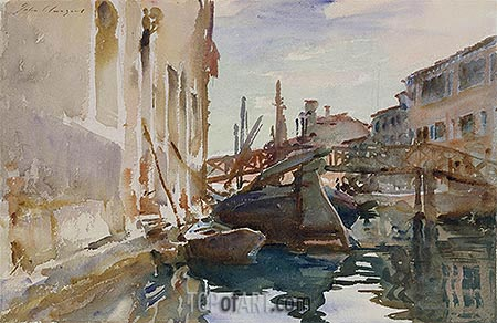 Giudecca, c.1913 | Sargent | Painting Reproduction