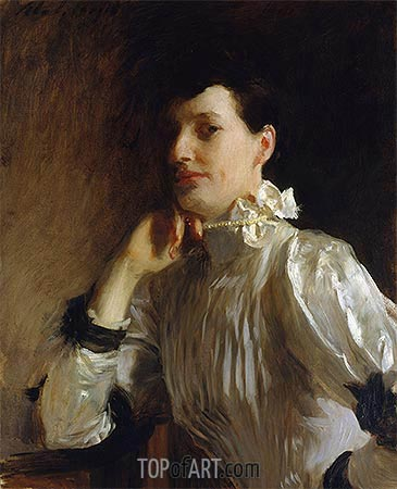 Mrs. Henry Galbraith Ward, c.1891/94 | Sargent| Painting Reproduction