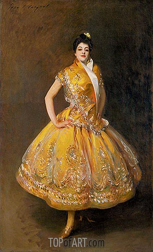 La Carmencita, 1889 | Sargent| Painting Reproduction