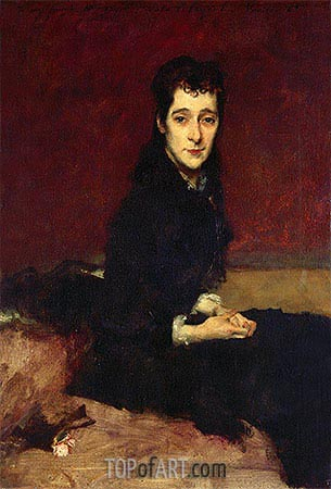 Mrs. Charles Gifford Dyer, 1880 | Sargent| Painting Reproduction