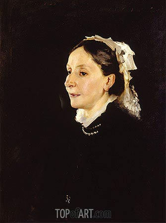 Portrait of Mrs. Daniel Sargent Curtis, 1882 | Sargent| Painting Reproduction