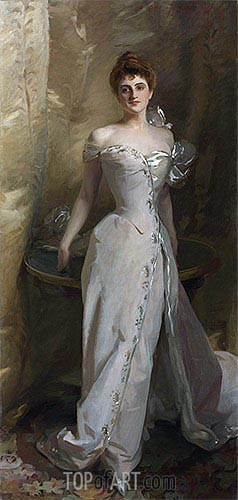 Portrait of Lisa Colt Curtis, 1898 | Sargent| Painting Reproduction
