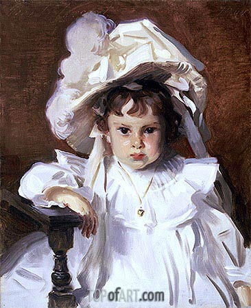Dorothy, 1900 | Sargent| Painting Reproduction