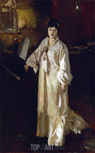 Judith Gautier, c.1885 | Sargent | Painting Reproduction