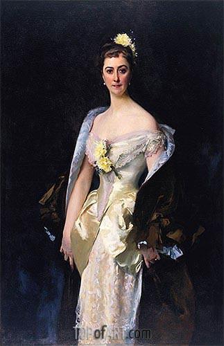 Sargent | Caroline de Bassano, Marquise d'Espeuilles, 1884