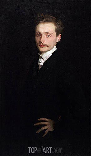 Leon Delafosse, c.1895/98 | Sargent| Painting Reproduction