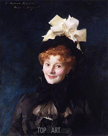 Sargent | Madame Escudier, c.1883