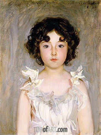 Mademoiselle Jourdain, 1889 | Sargent| Painting Reproduction