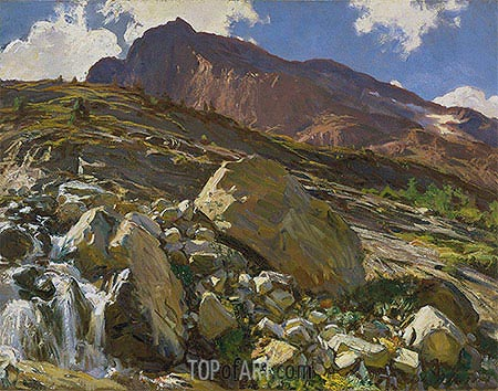 Simplon Pass, 1911 | Sargent| Painting Reproduction
