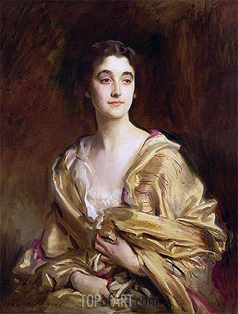 The Marchioness of Cholmondeley, 1989 | Sargent| Gemälde Reproduktion