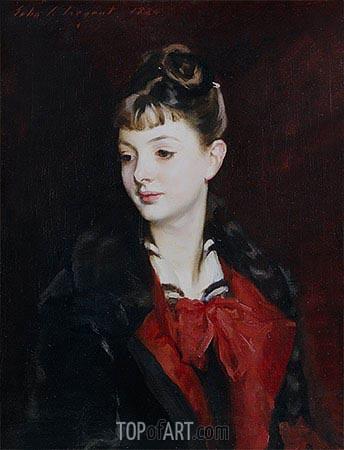 Sargent | Portrait of Mademoiselle Suzanne Poirson, 1884