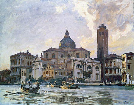 Palazzo Labia, Venice, 1903 | Sargent | Painting Reproduction