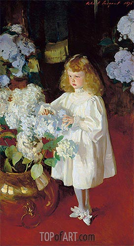 Helen Sears, 1895 | Sargent| Painting Reproduction