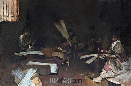 Venetian Glass Workers, c.1880/82 | Sargent| Painting Reproduction