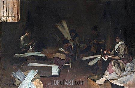 Sargent | Venetian Glass Workers, c.1880/82