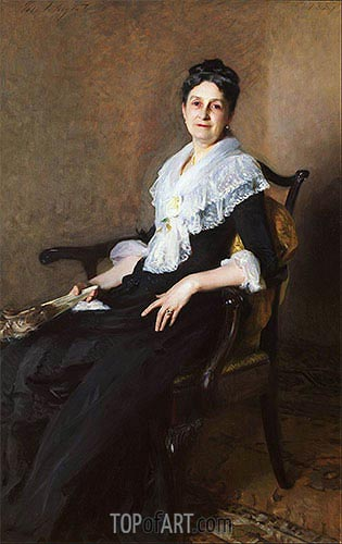 Elizabeth Allen Marquand, 1887 | Sargent | Painting Reproduction