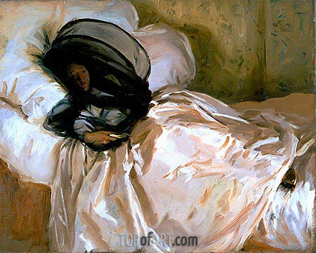 The Mosquito Net, 1912 | Sargent| Painting Reproduction