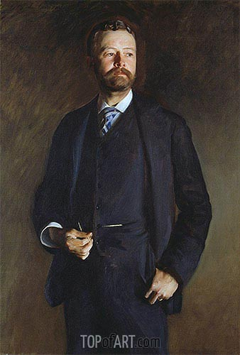 Henry Cabot Lodge, 1890 | Sargent| Painting Reproduction