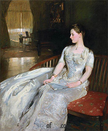 Mrs. Cecil Wade, 1886 | Sargent| Painting Reproduction